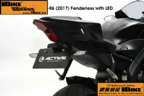 Others YZF-R6(17') 短尾牌架(連LED)