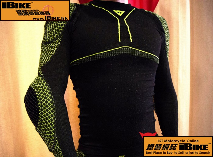 Dainese D-CORE ARMOR TEE LS 電單車
